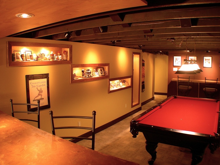 The Sports Fanatic Man Cave