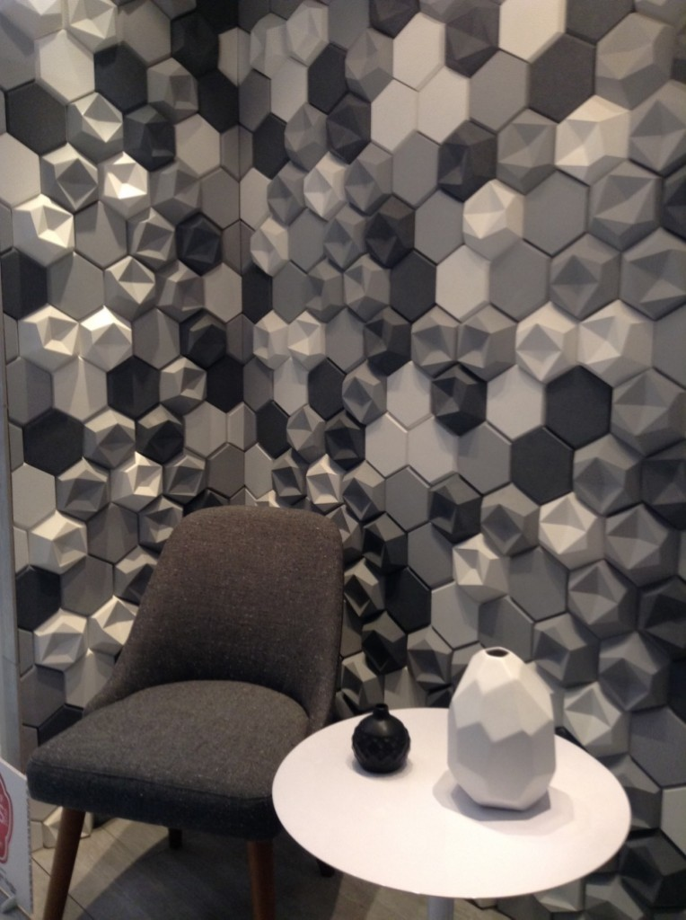 The Kaza Collection, three dimensional tile by Walker Zanger